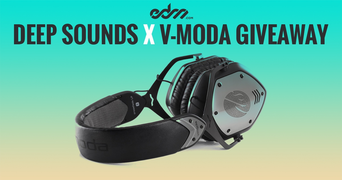EDM.com Presents: Deep Sounds – Giveaway Featuring Custom V-MODA Headphones