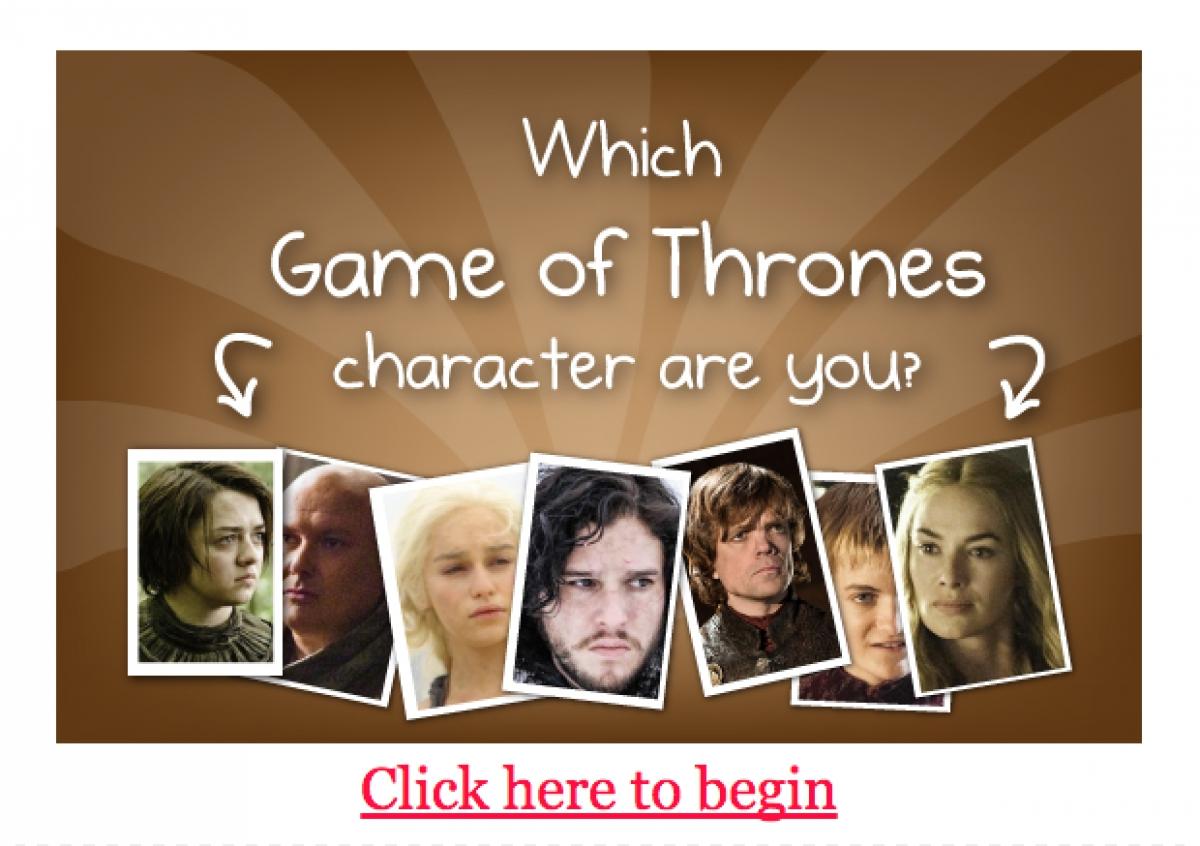 GOT Character Quiz
