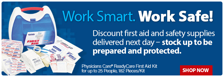 First Aid Supplies and Workplace Safety Gear for sale and delivered next day