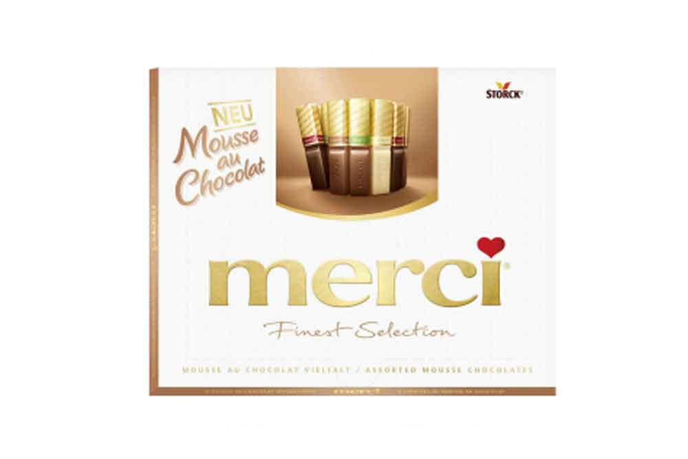 Конфеты Merci Finest Selection 210г шоколадный мусс Россия
