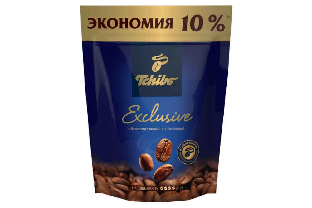 Кофе растворимый Tchibo Exclusive 75г Германия