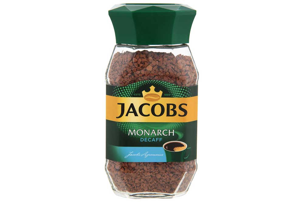 Кофе Jacobs Monarch Decaff 95г натур. раств. сублимир. декофеин, ст/б Германия
