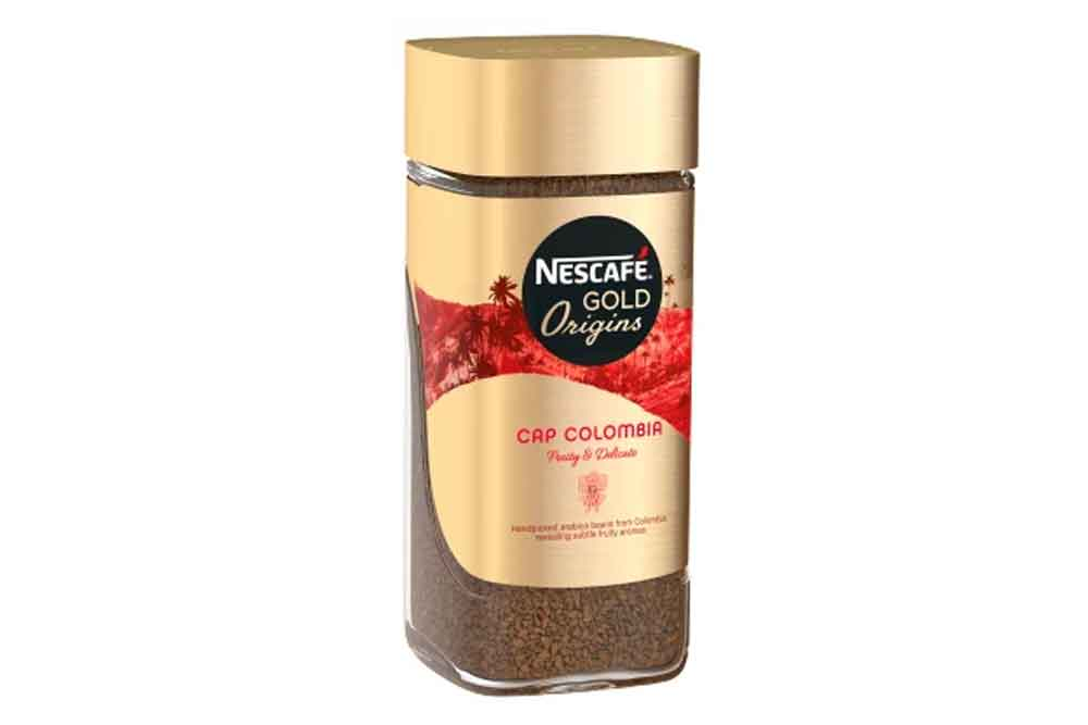 Кофе Nescafe Gold Origins Colombia 85г ст/б натуральный растворимый сублимированный Россия