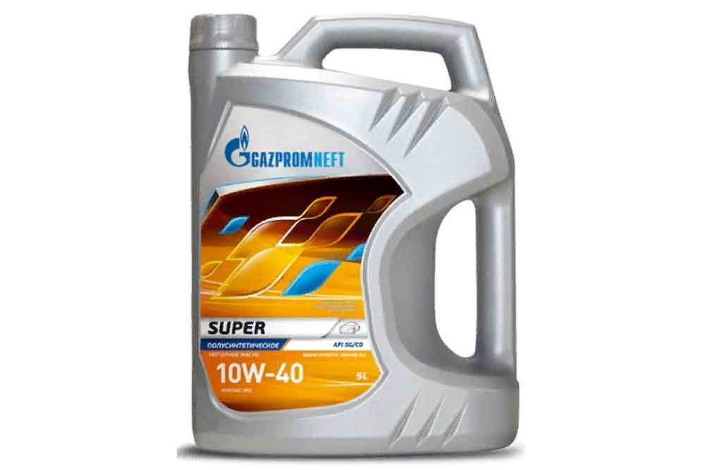 Масло Gazpromneft Super 10w-40 5л Россия
