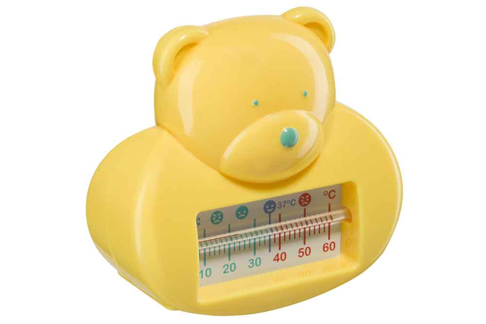Термометр для воды Happy Baby Bath Termometer yellow арт.18002 Китай