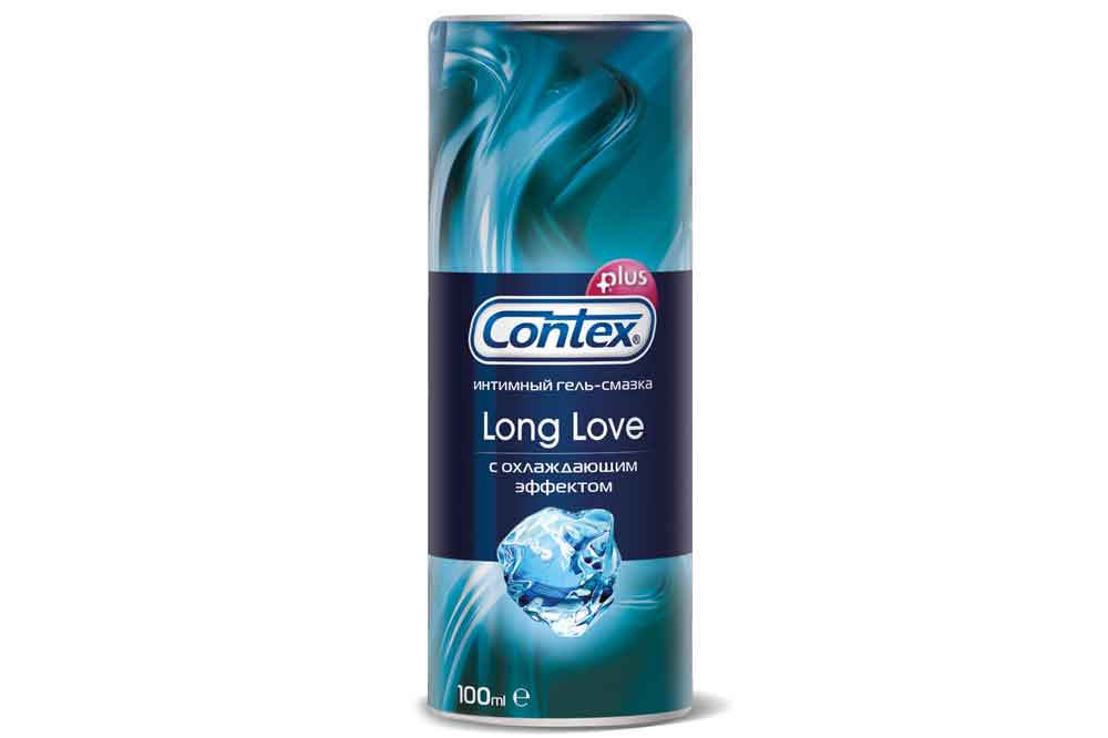Гель Contex Long Love охл.эф.100мл