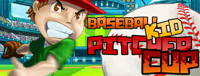 Play free game Baseball kid : Pitcher cup
