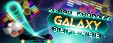 Play free game Brick Breaker Galaxy Defense