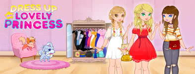 Play free game Dress Up The Lovely Princess