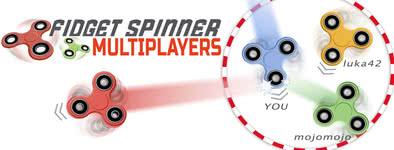 Play free game Fidget spinner multiplayers