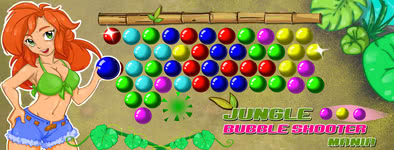 Play free game Jungle Bubble Shooter Mania