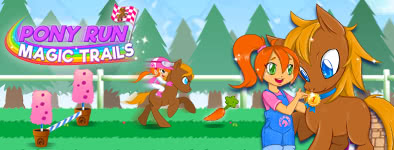 Play free game Pony Run : Magic Trails