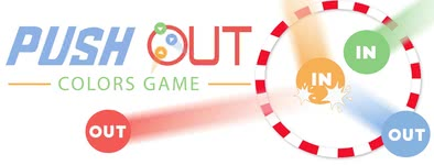Play free game Push Out : Colors Game