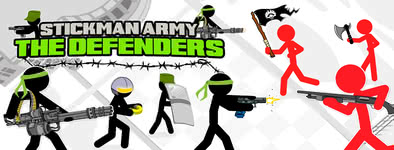 Play free game Stickman Army : The Defenders