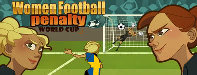 Play free game Women football penalty