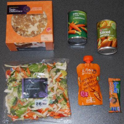 Daucus carota (wild carrot) products