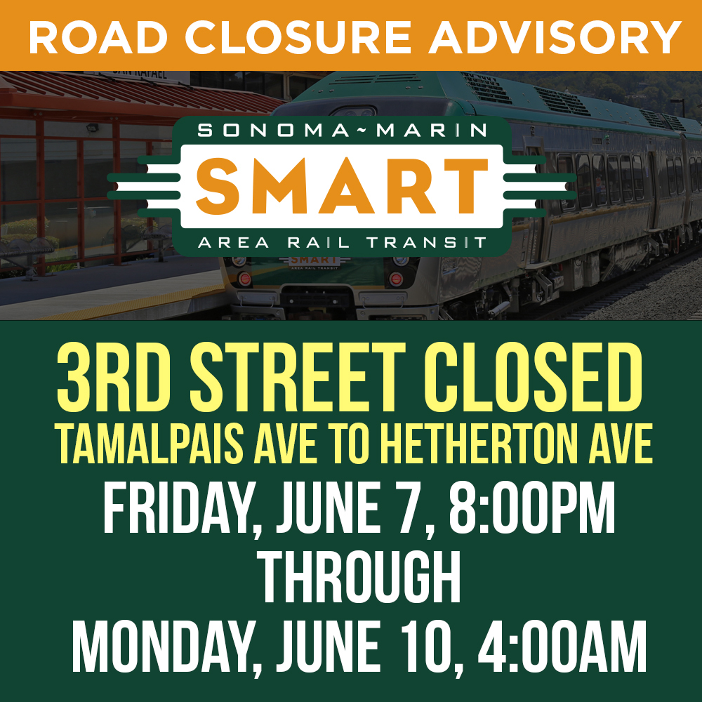 3rd St. Closures 06/07/19