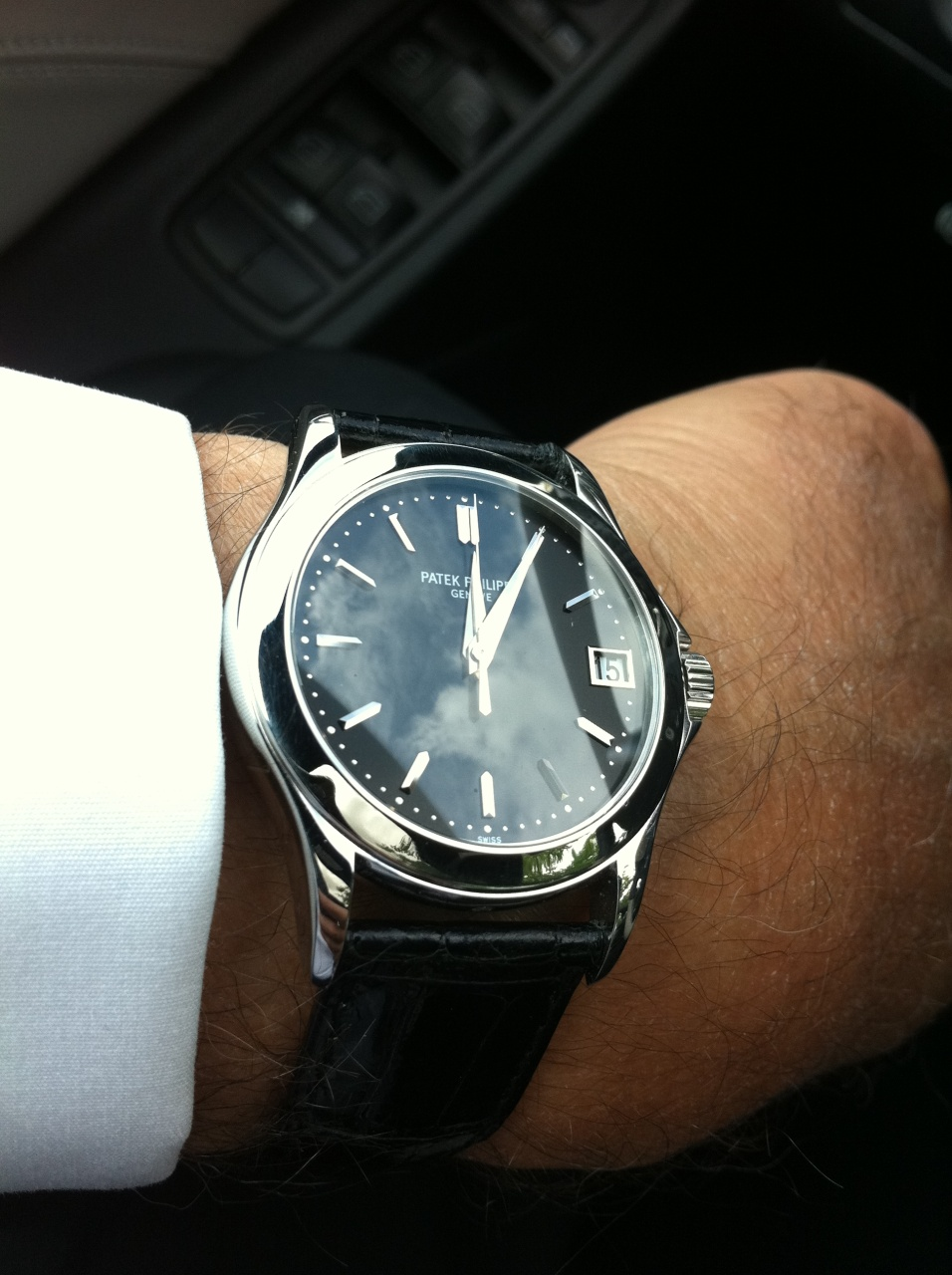 Patek Philippe Calatrava On Wrist