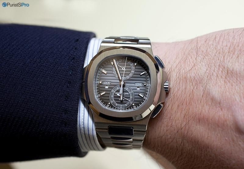Patek Philippe Nautilus Chronograph 2014