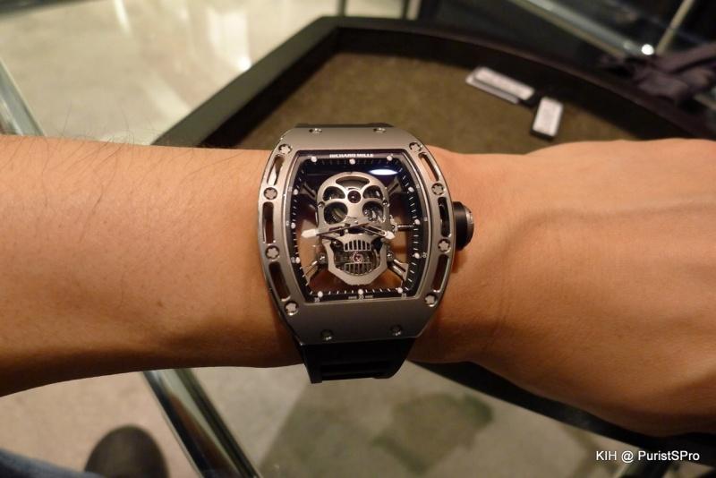 Richard Mille Watches Skull