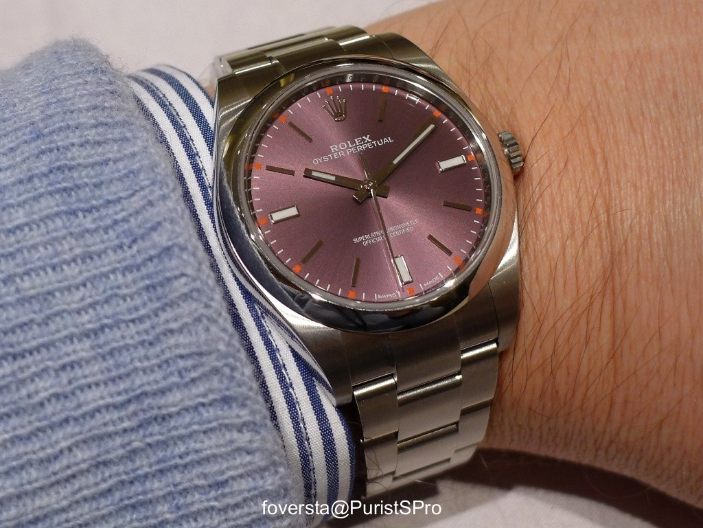 Rolex Perpetual Oyster 39mm