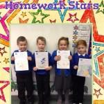 Year 2 Homework Stars