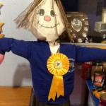 Super scarecrow awarded 2nd place!
