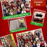 Christmas Dinner and Christmas  jumper day in Reception