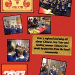Y3/4 celebrate Chinese New Year