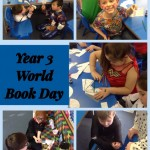 World book day in Year 3 based on 'Stig of the Dump' by Clive King.