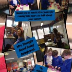 Year 3 career talk.  Thanks to Mrs Coates for coming into school to tell us all about her business.  Mrs Younger was pampered and we all made bath bombs.