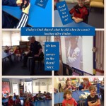 Thanks to Mr Richardson (Finlay's Dad). Who came in to tell us all about life in the Royal Navy.