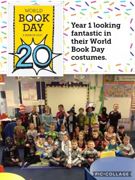 World Book Day in year 1 - The Gruffalo