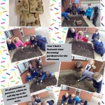 Year 1 became gardeners!