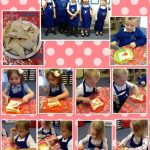 Nursery enjoy a picnic!