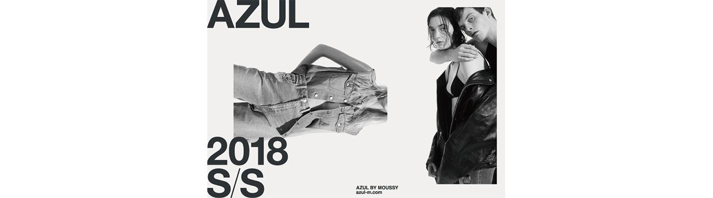 AZUL BY MOUSSY(株式会社バロックジャパンリミテッド)