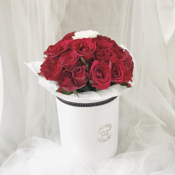 Valentine's Special_Roses Bloom Box image