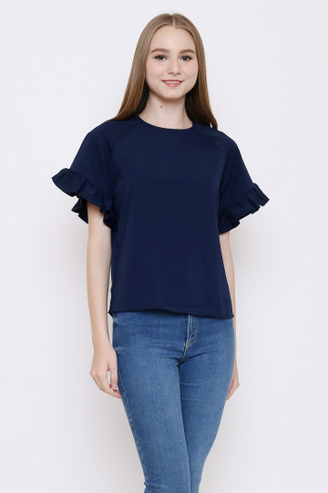Tammy Top in Navy image