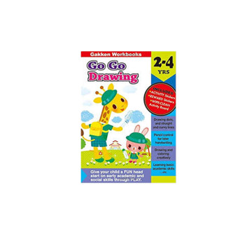 Gakken Go Go Drawing 2-4 Years Book | 24-47 Months image