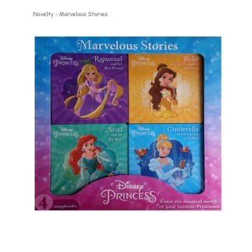 N-Disney Princess 4 Books Box Set | 24-47 Months image