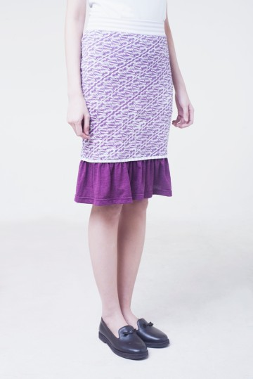 Mermaid Skirt Purple image