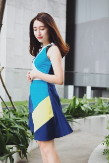 Pop Color Dress