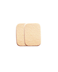 Compact Powder/Foundation Sponge 2 Pieces - Cream