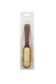 Jaspe Tortoise Gold Hair Brush