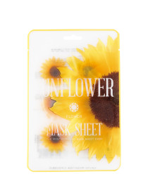 12p Sunflower Flower Mask Sheet