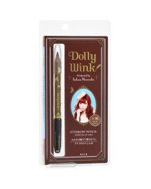 Eyebrow Pencil No. 02 Chocolate Ash Dolly Wink