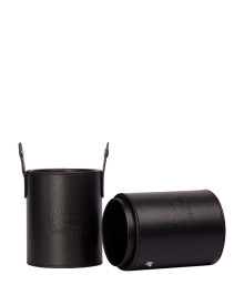 Cylinder Travel Brush Holder - Black