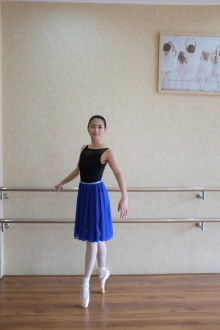 Royal Blue Long Siffon Skirt