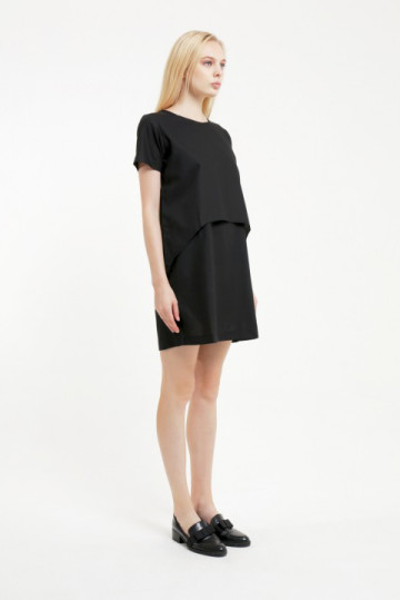 Black Layer Dress