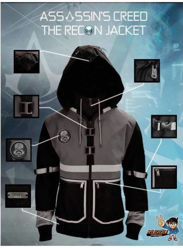 Jaket Assassin Creed Recon Black image